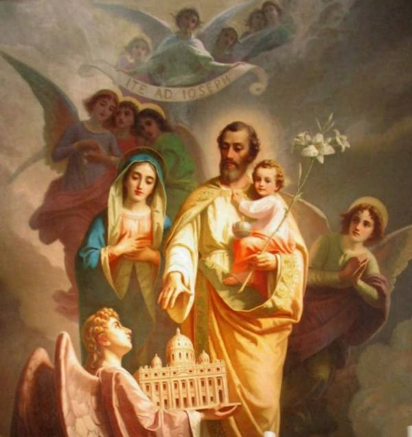 Mar 19 Solemnity Of St Joseph Husband & Father Ite Ad Adult Catechesis Christian