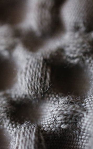 Wollige Decke zum Kuscheln