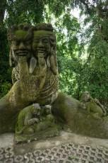 Tempelanlage im Monkey Forest bei Ubud