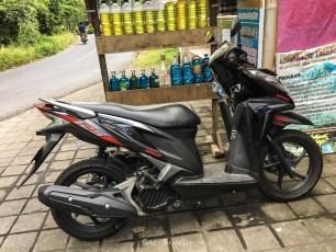 My Scooter + Petrol Station (Bottle station)