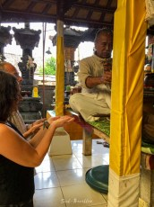 blessings an a protection ceremony by the brahman