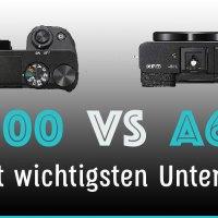 Sony A6000 vs A6100 Vergleich - Die 8 wichtigsten Unterschiede