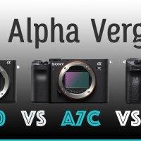 Sony Alpha A6600 vs A7C vs A7III Vergleich