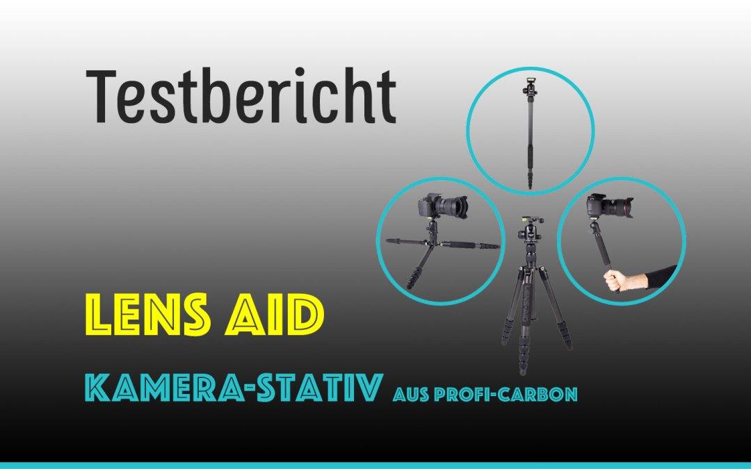 Ein PERFEKTES Kamera-Stativ von Lens-Aid im TEST (Outdoor + Reise)