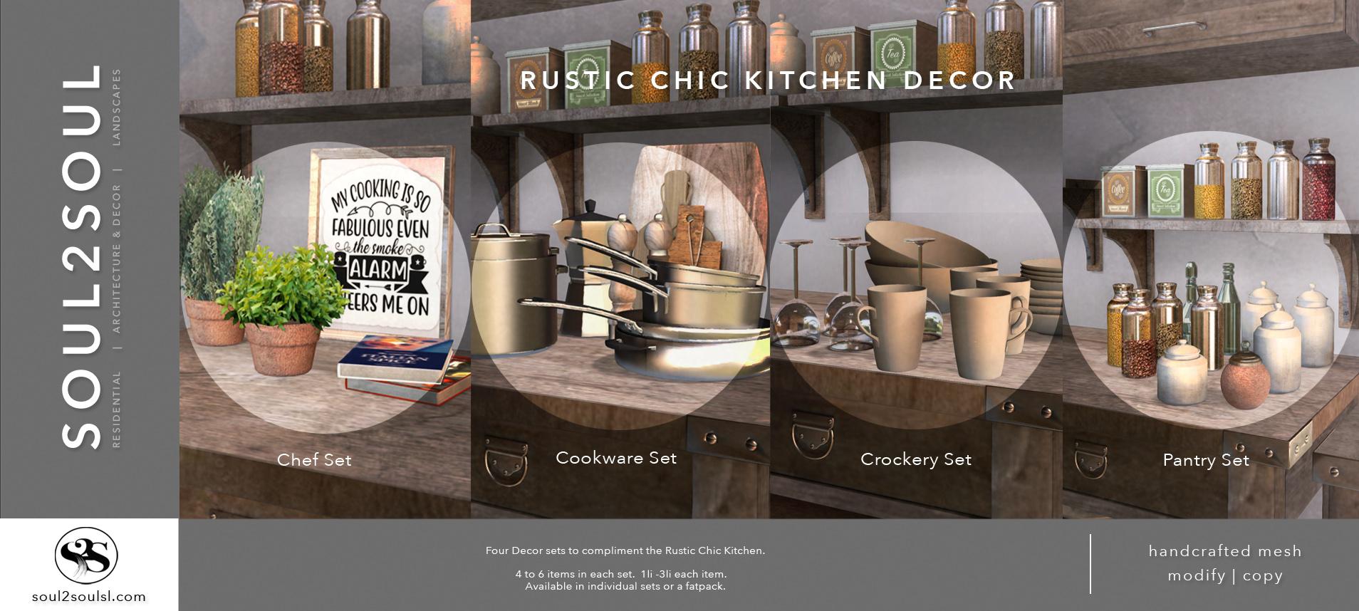 Rustic Chic Kitchen Decor At The Liaison Collaborative Tlc Event Soul2soul Sl