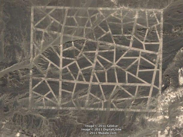 Zdjęcie nr 1 - Tajemnicze znaki na środku pustyni Gobi