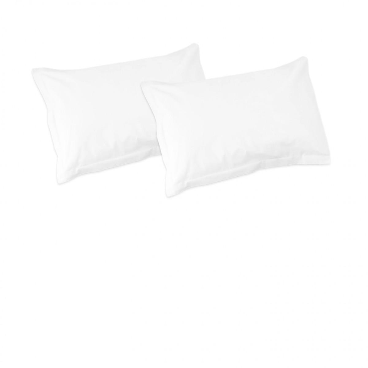 White  Pillow cases  100 Cotton Bedding  SoulBedroom EURL