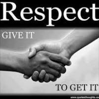 IF RESPECT WAS STRICTLY RECIPROCAL