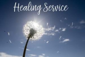 Healing Service NEW