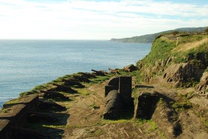 An old Spanish Fort just outside of Valdivia