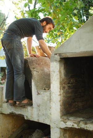 Ben´s project: repairing theParilla (barbecue grill)