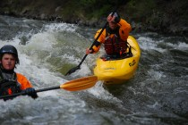 Moyie River kayakers 2
