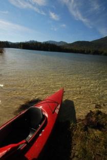 Kayak on Upper Priest Lake