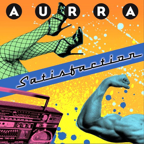 Aurra-Satisfaction-LP-art
