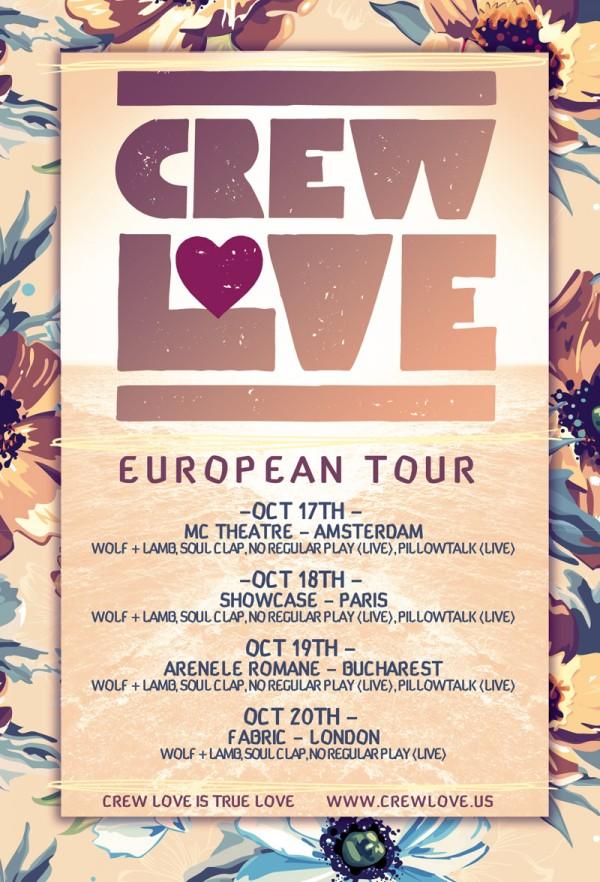 Crew Love Euro Tour