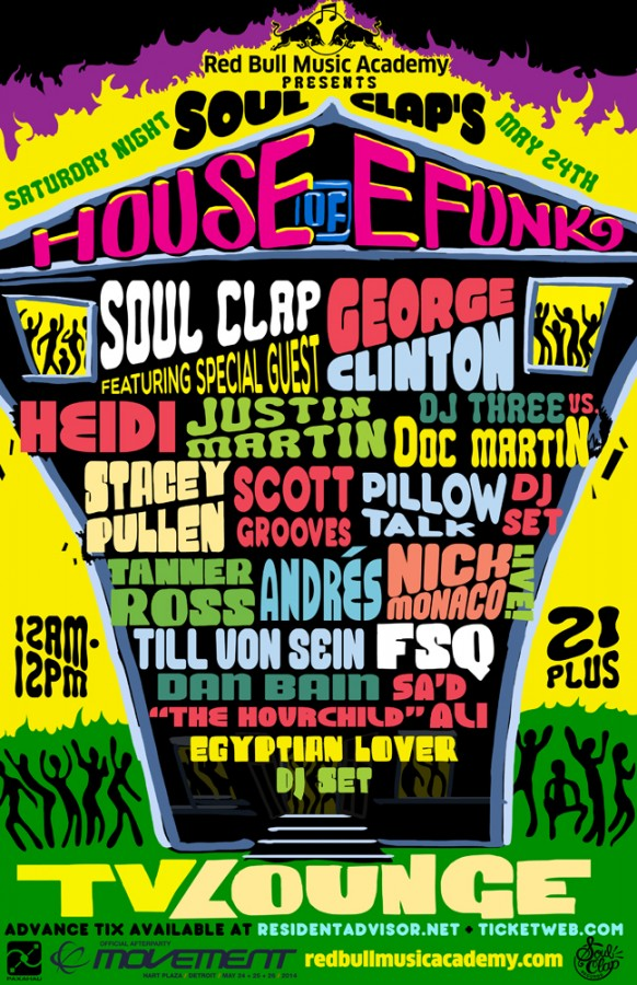 Get Your Tix for the House of EFUNK