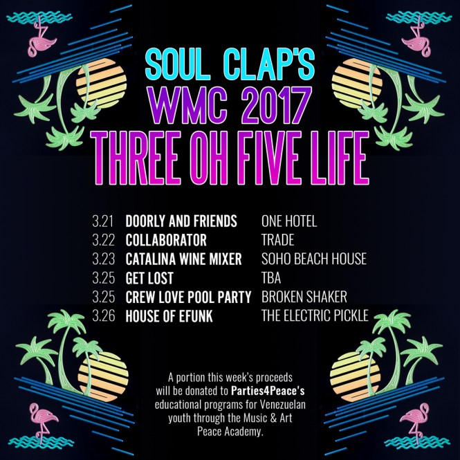 We 'bout that Three Oh Five Life this WMC 2017!