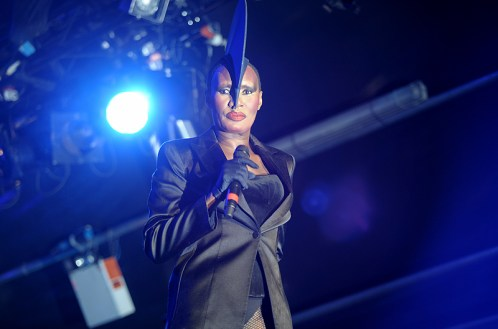 Grace Jones at Somerset House