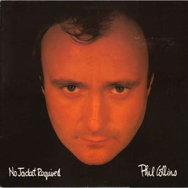 Phil Collins 'No Jacket Required' album cover