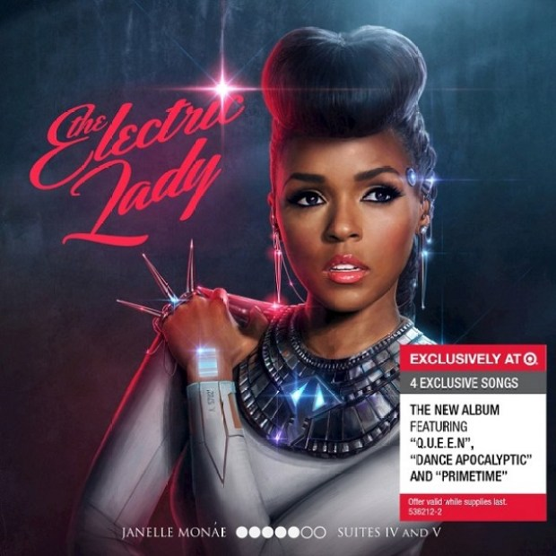 Janelle monae the electric lady album cover