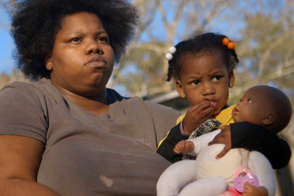 JACKSON - April Jackson and her daughter Miracle