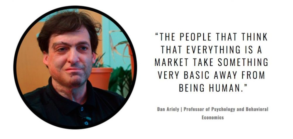 Dan Ariely, Psychology and Behavioral Economics