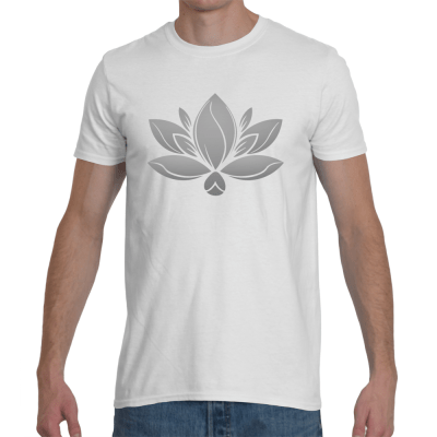 Mens Gray Lotus