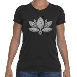 Womens Gray Lotus