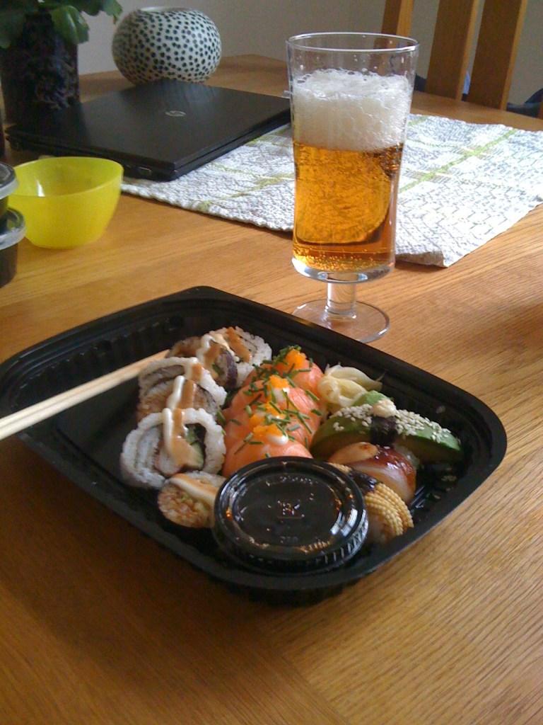 Sushi från Lime i Sollefteå