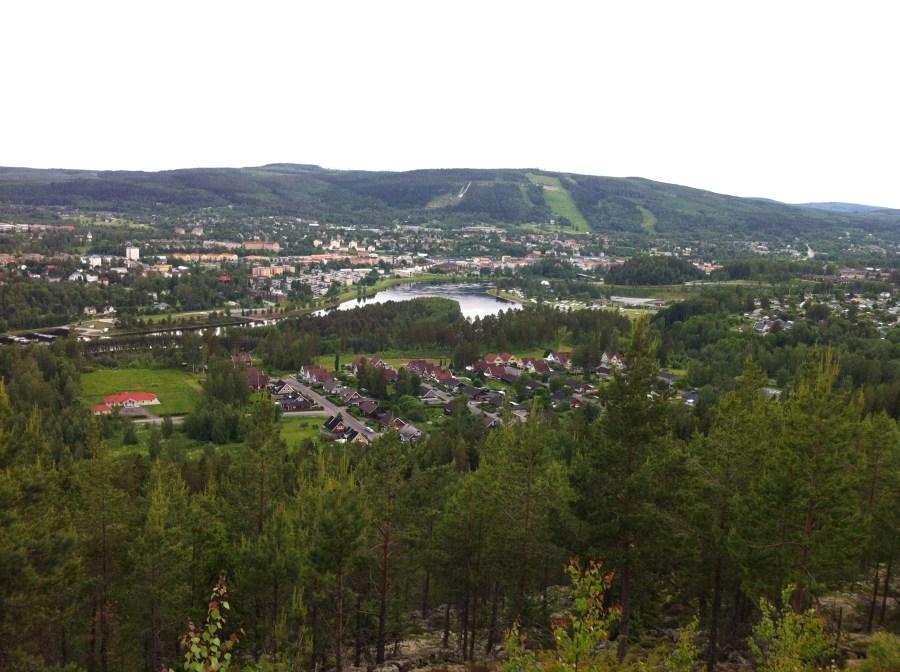 Utsikt från Skedomsberget