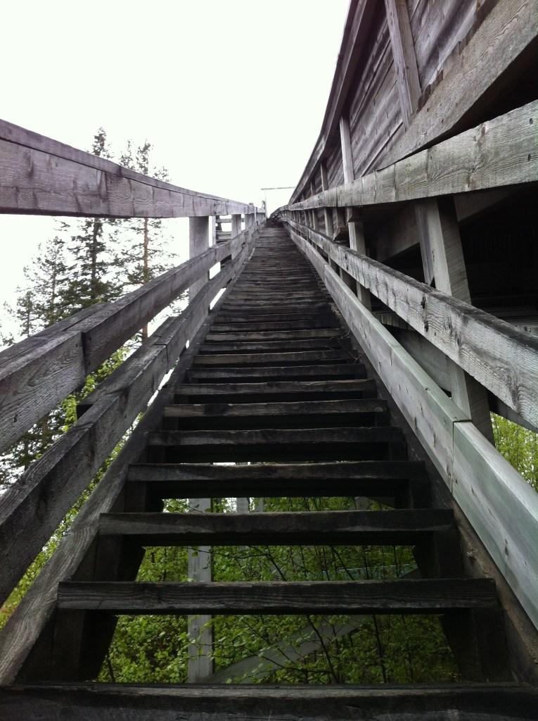 Trappa i störtloppstornet