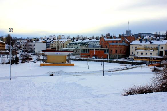 Vinterutflykt i Sollefteå stadspark