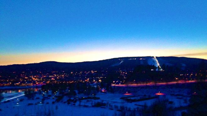 Hallstaberget skyline Sollefteå