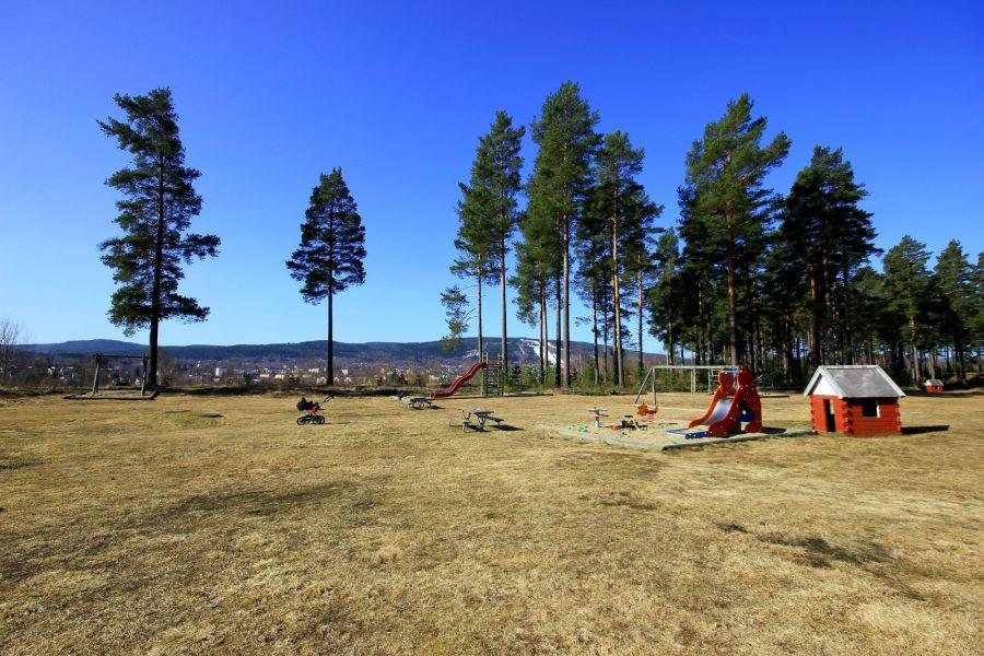 Lekpark på Skedosmsmon i Sollefteå