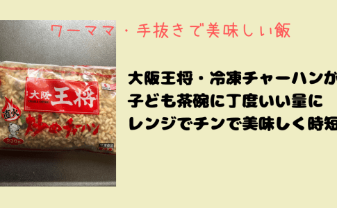 大阪王将の冷凍チャーハン
