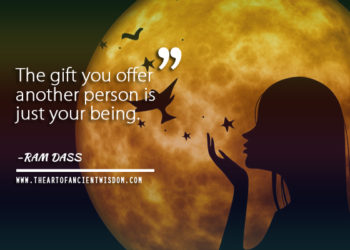 ram dass the gift you offer another person