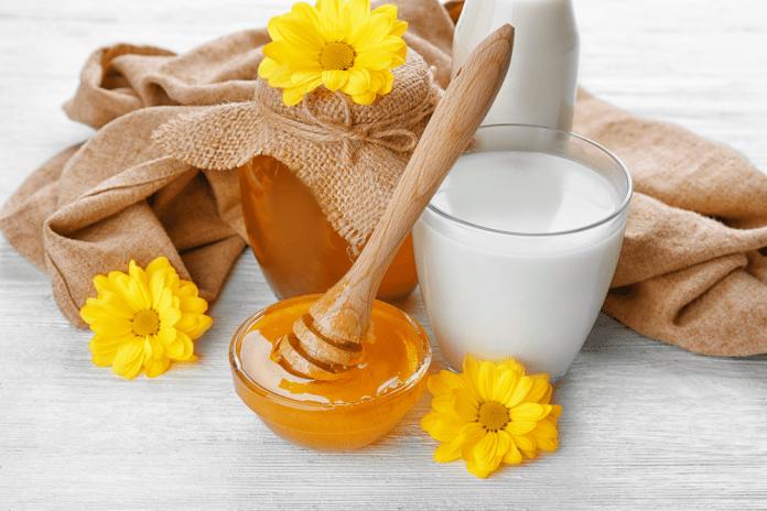 Milk and Honey for Hair Shining