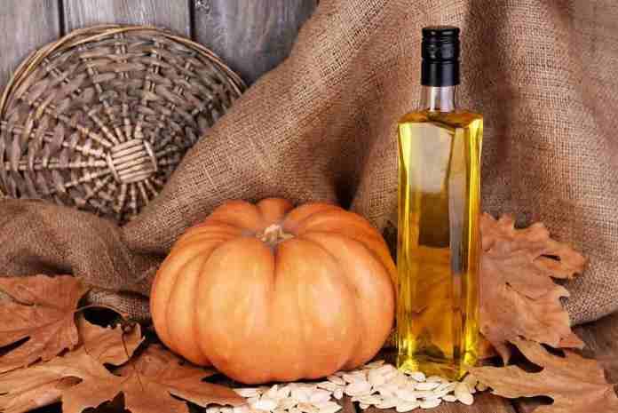 Pumpkin and honey hair mask