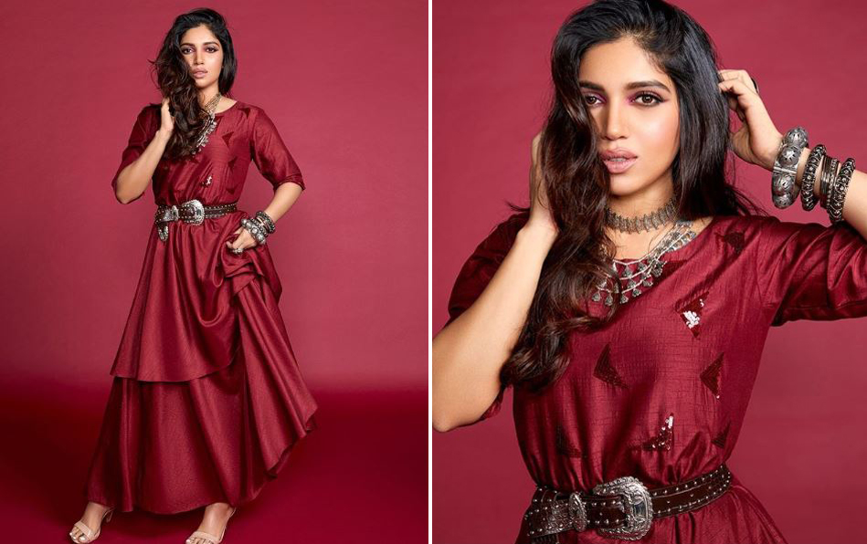 Bhumi Pednekar bold and daring Diwali look