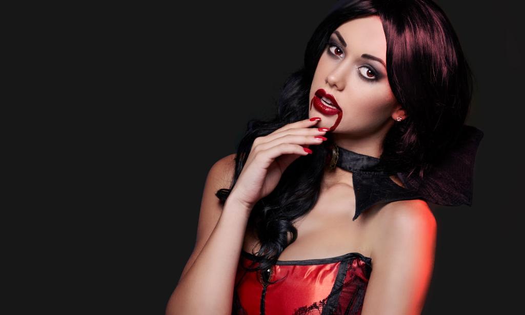 The sexy vampire