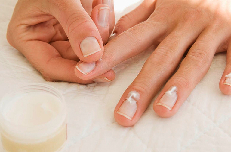 manicure steps with pictures