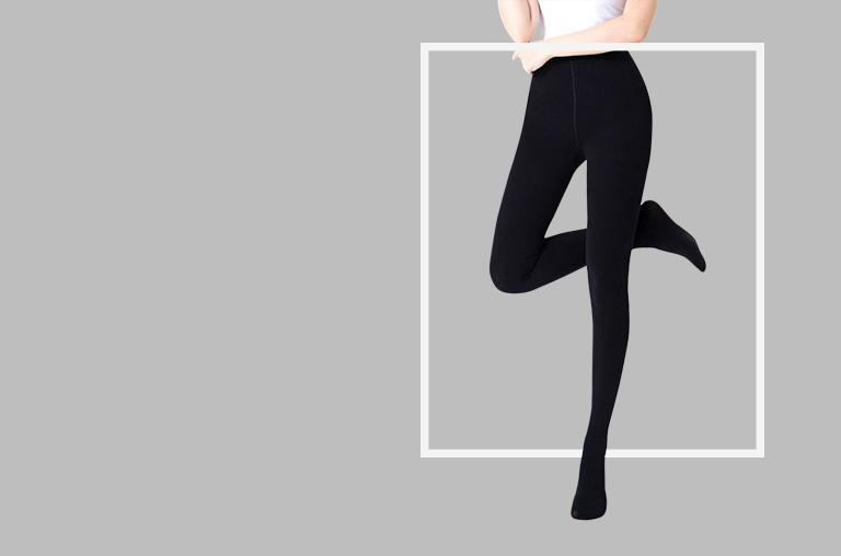 Velvet lined leggings