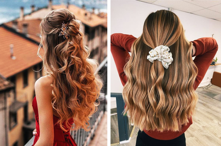 how to curl hair with a straightener easy