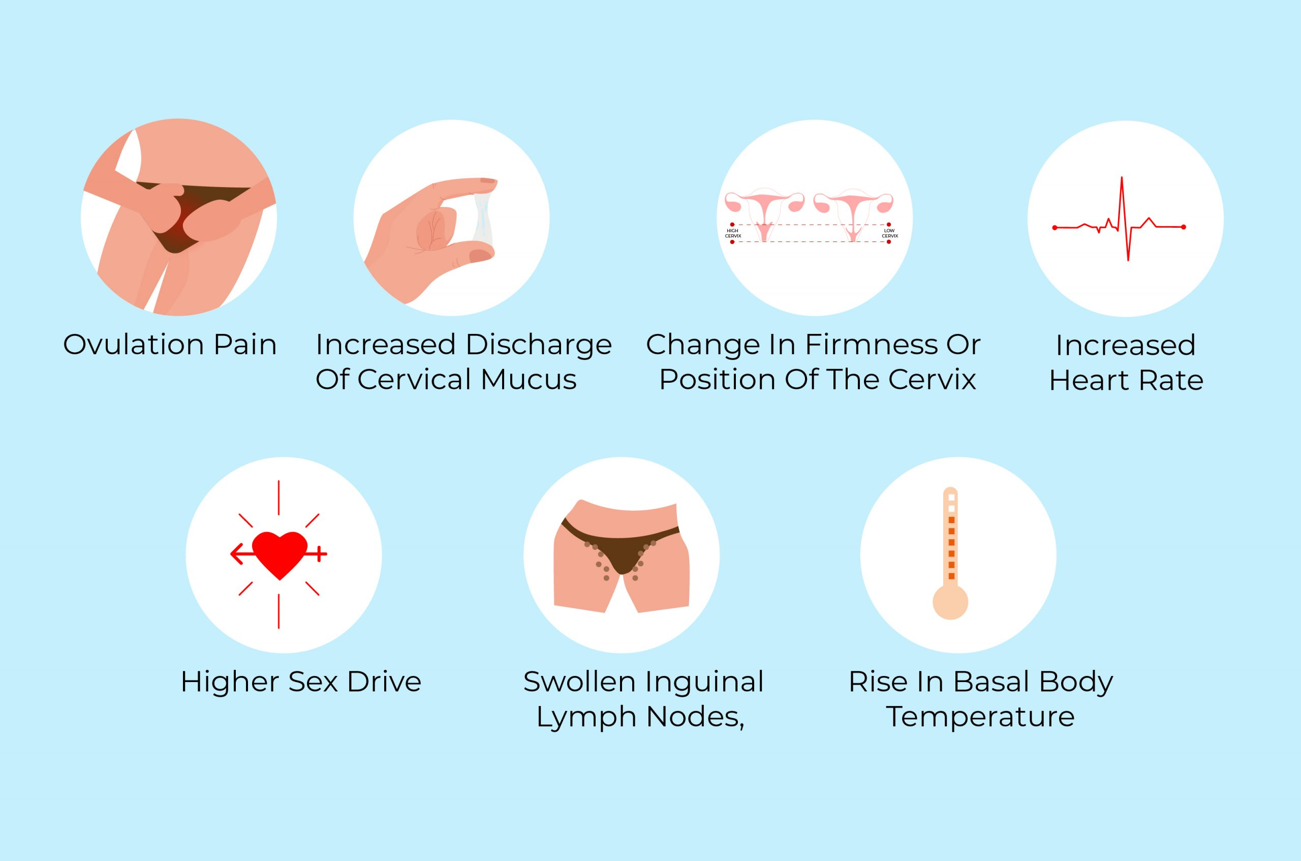 What are the symptoms of ovulation spotting