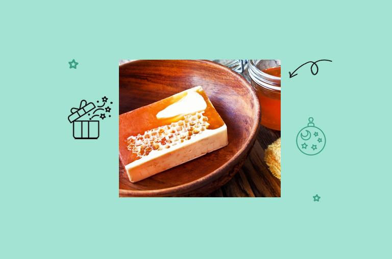 DIY Milk And Honey Soap