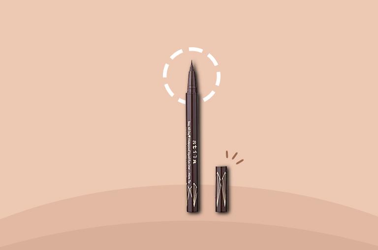 Best Long-Lasting Stila Stay All Day Waterproof Liquid Eye Liner in Dark Brown
