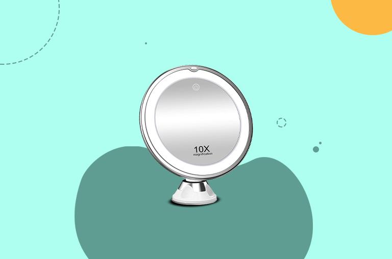 Koolorbs 10X Magnifying Makeup Mirror With Lights