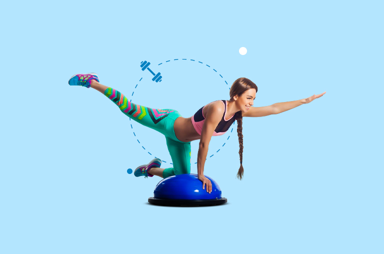 Best BOSU Ball Exercises To Try At Home