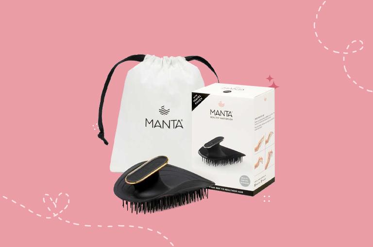 Manta Healthy Hair Brush