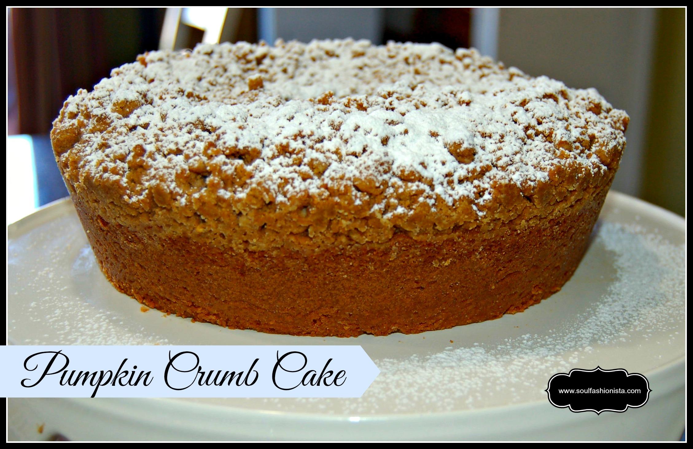 Cake Recipes Destiny 2: Pumpkin Crumb Cake